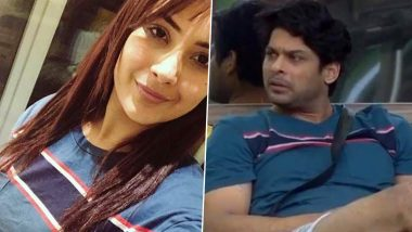 Bigg Boss 13: Shehnaaz Gill Wears Sidharth Shukla's T-Shirt and Fans of #SidNaaz Cannot Keep Calm (View Pic)