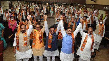 Shivraj Singh Chouhan Takes Oath as Madhya Pradesh Chief Minister For Fourth Time Amid Coronavirus Outbreak