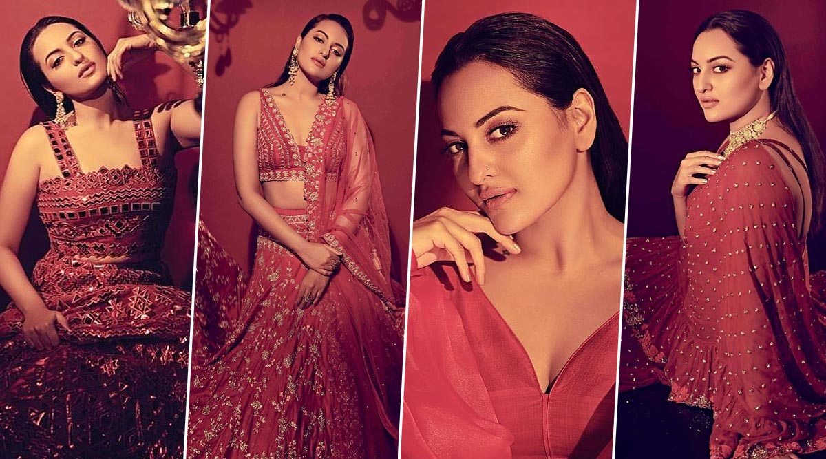 Sonakshi Sinha Is Fifty Shades of Sensational Scarlet Red in This Photoshoot for Cineblitz – View Pics