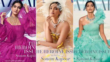 Sonam Kapoor Channels her Inner Princess in the New Photoshoot of Harper's Bazaar Arabia (View Pics)