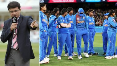 Sourav Ganguly Ignores Harmanpreet Kaur, Tags Jay Shah in His Post As He Applauds Indian Women's Cricket Team for Their Impressive Run in ICC T20 World Cup 2020