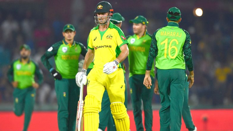 South Africa vs Australia Live Cricket Score 2nd ODI 2020: Get Latest Match Scorecard and Ball-by-Ball Commentary Details for SA vs AUS Match From Bloemfontein