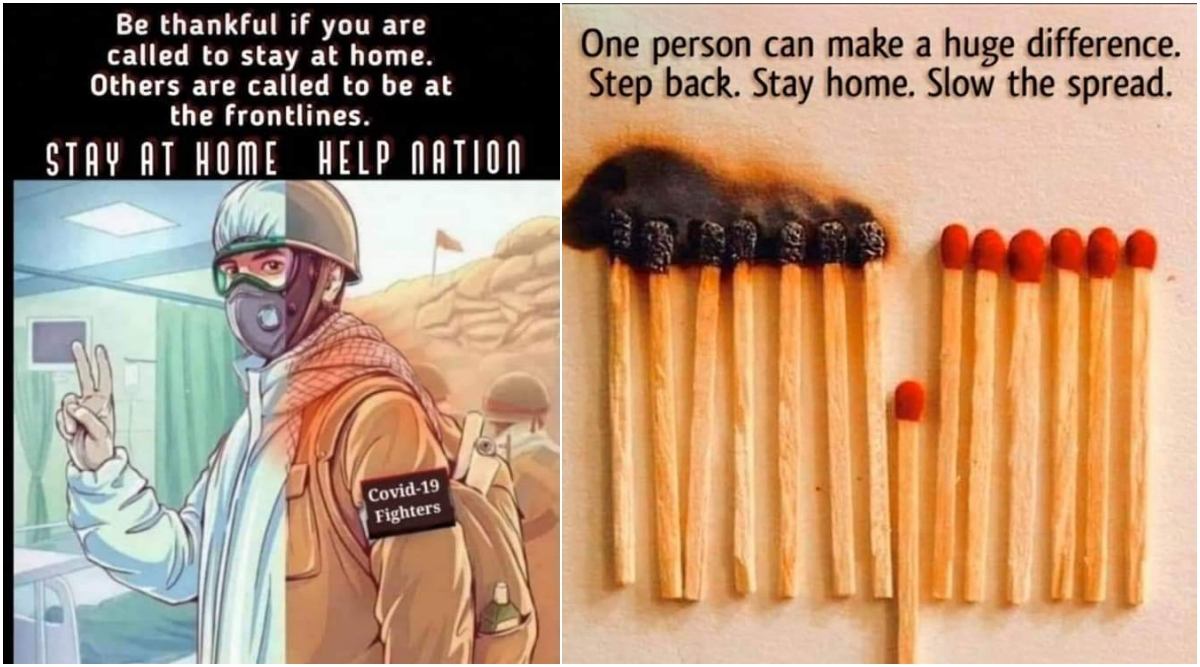 stay home  stay safe messages for janta curfew