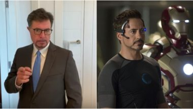 Stephen Colbert Imagines How Robert Downey Jr's Tony Stark Would Have Stopped the Coronavirus Pandemic (Watch Video)