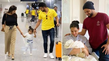 Suresh Raina, Wife Priyanka Blessed With Baby Boy Rio; CSK Welcomes 'Kutti Thala' (See Post)