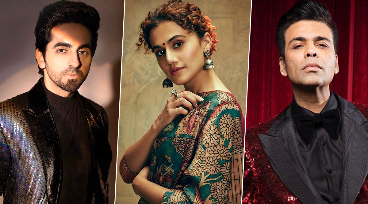 COVID-19 Outbreak: Ayushmann Khurrana, Taapsee Pannu, Karan Johar and Others Extend Their Support to Daily Wage Workers (Read Tweets)