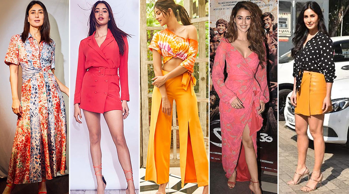 International Women's Day 2020: Kareena Kapoor Khan, Disha Patani, Katrina Kaif Give you Perfect Outfits to Dress Up and Celebrate the Day with Your Girl Gang (View Pics)