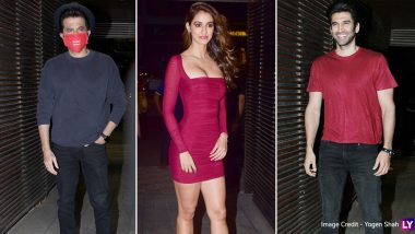Malang Success Bash: Anil Kapoor Wears Mask Due to Coronavirus Outbreak; Disha Patani, Aditya Roy Kapur and Many Others Spotted at the Event (View Pics)