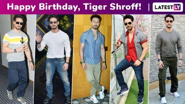 Happy Birthday, Tiger Shroff! Here's Why We Are Smitten Over Your Casual AF Monochrome Fashion Arsenal!