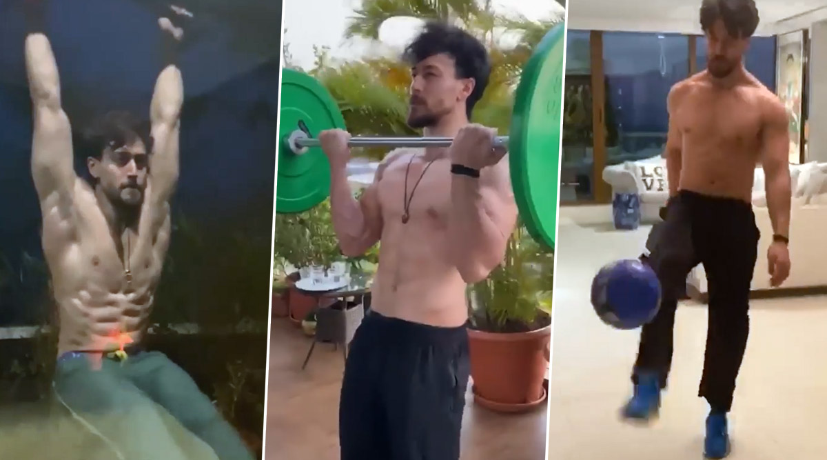 Tiger Shroff Goes Against His Mom's Rule, 'Plays' In The House! (Watch Video)