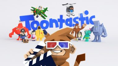 Tired of Viewing Google 3D Lion, Giant Panda, Tiger and Shark on Google Search? Now Try Toontastic 3D Cartoon App on Your Mobile to Kill Boredom