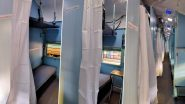 Train Coaches Turned Into Isolation Wards by Indian Railways as COVID-19 Cases Continue to Rise; See Pics