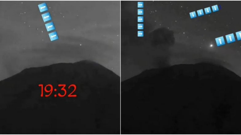 Alien Base in Mexico? Video Captures UFOs Apparently Entering and Exiting From a Volcanic Mountain Popocatépetl