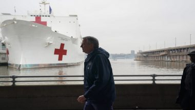 Coronavirus Patients Mistakenly Transferred to 'COVID-19 Free' Hospital Ship USNS Comfort Meant for Trauma Patients in New York