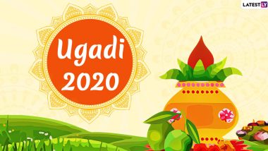 Ugadi Images & HD Wallpapers for Free Download Online: Wish Happy Telugu New Year 2020 With WhatsApp Stickers, GIF Greetings and Hike Messages