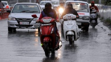 Delhi Rains: Heavy Rainfall, Thunderstorm Lash National Capital; IMD Says Light to Moderate Showers to Continue Today