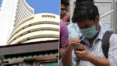 Bloodbath at Indian Markets, Sensex Nosedives Around 4,000 Points to Close at 25,981, Nifty Falls to 7,631 Amid Coronavirus Pandemic