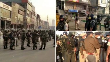 Shaheen Bagh Protest Site Cleared, Security Tightened Amid Imposition of Section 144 and Delhi Lockdown as COVID-19 Cases Rise
