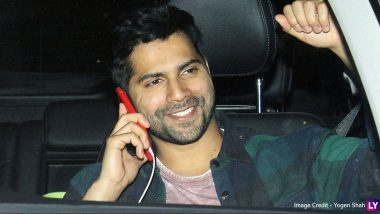 Here's How Varun Dhawan Is Going to Celebrate Once COVID-19 Pandemic Ends