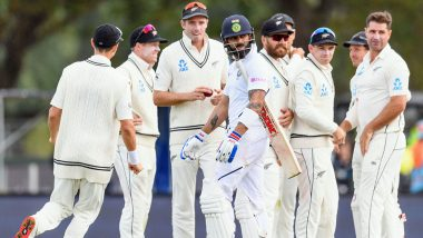 India vs New Zealand Stat Highlights 2nd Test 2020: From Virat Kohli's Third-Longest Streak Without a Ton to Becoming Tim Southee's Bunny, Records Made at Christchurch