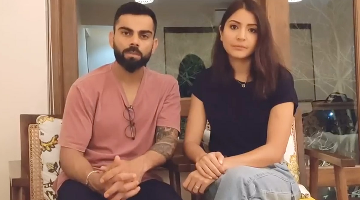 Virat Kohli, Anushka Sharma Urge People to Stay Indoors During 21-Day Lockdown; 'These Are Testing Times, We Need to Stand United', Says Celebrity Couple