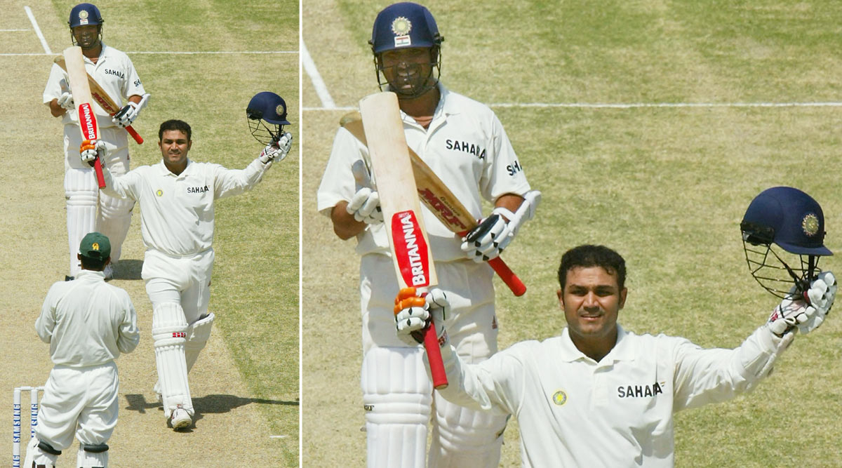 On This Day: When Virender Sehwag Became the First Indian to Register Triple Century in Test Cricket