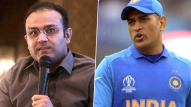 Virender Sehwag Unsure About MS Dhoni's Comeback in International Cricket, Says 'India Should Stick With KL Rahul and Rishabh Pant'