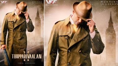 Thupparivaalan 2 First Look: Vishal Dons The 'Sherlock Holmes' Avatar In The Second Installment of Crime Thriller (View Pic)