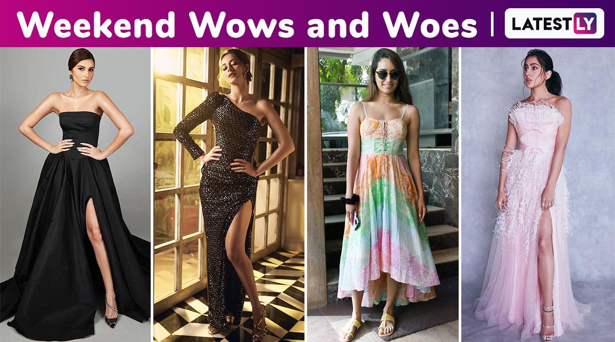 Weekend Wows and Woes: Sara Ali Khan, Ananya Kapoor, Tara Sutaria Dazzle; Shraddha Kapoor Underwhelms!
