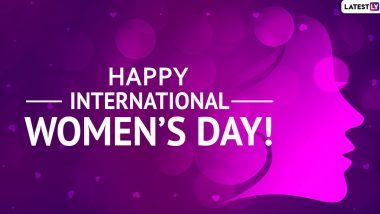 National Women's Day 2020 Greetings, Wishes & Quotes: WhatsApp Stickers, GIF Images, Woman Power Messages to Send on Women's Day