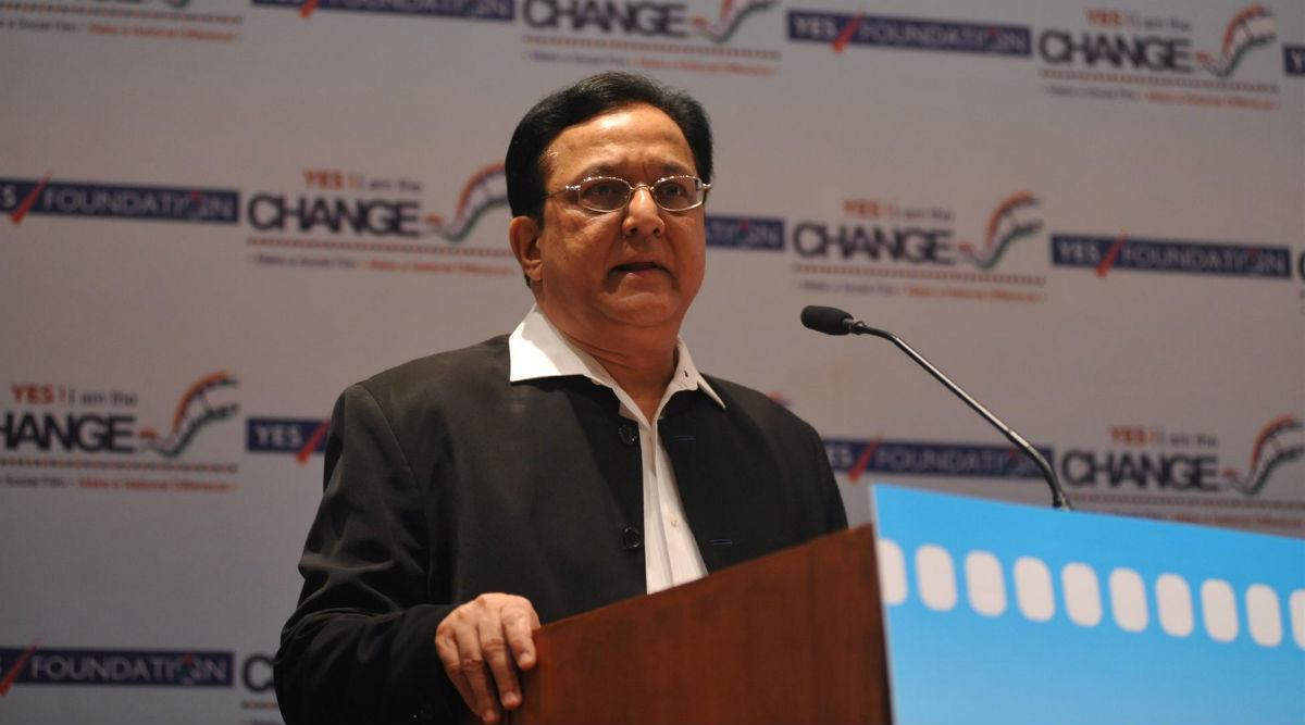 YES Bank Founder Rana Kapoor Seeks Bail, Fears He May Get Coronavirus if He Stays in Jail