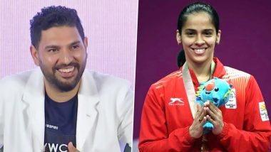 Yuvraj Singh Extends Birthday Wishes to Saina Nehwal, Calls the Badminton Player 'Swashbuckling Champion'