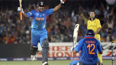 This Day, That Year: Yuvraj Singh's Composed Fifty Outshined Ricky Ponting's Last World Cup Hundred As India Registered Memorable Quarter-Final Win Against Australia