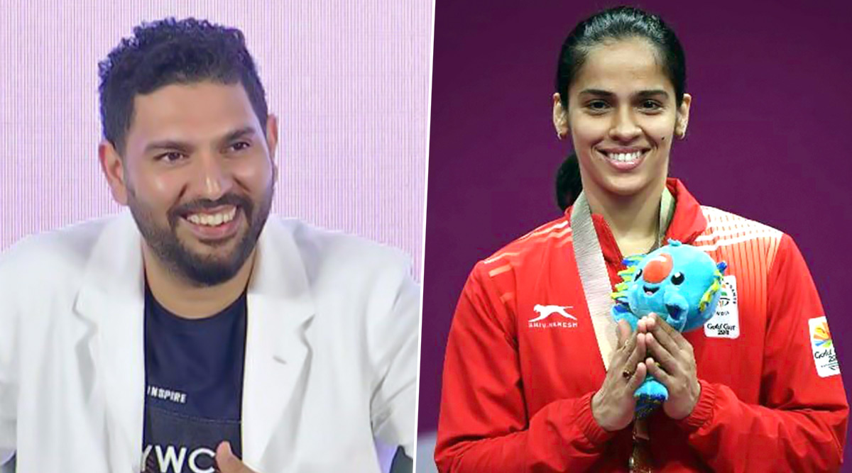 Yuvraj Singh Extends Birthday Wishes to Saina Nehwal, Calls the Badminton Player 'Swashbuckling Champion'