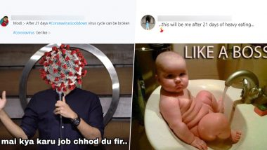 After 21 Days of Lockdown Funny Memes Go Viral As Netizens Try to Lighten Up the Mood During Coronavirus Lockdown Imposed in India
