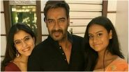 Ajay Devgn Issues Clarification on Kajol and Nysa's Health: 'Rumour Around Their Health Is Unfounded, Untrue and Baseless'