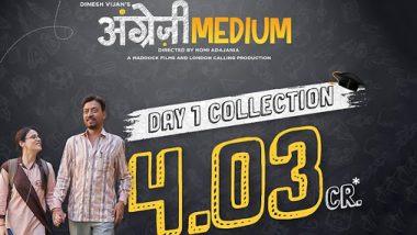 Angrezi Medium Box Office Collection Day 1: Irrfan Khan-Kareena Kapoor Film Scores Despite The Coronavirus Effect, Earns Rs 4.03 Crore