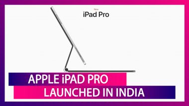 Apple iPad Pro With A12Z Bionic Chip Launched in India; Prices, Features, Variants & Specs