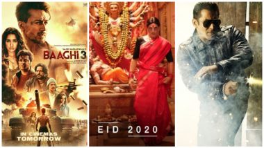 Tiger Shroff's Baaghi 3 Will Not Open in Many Single Screen Theatres in Delhi-UP, Thanks to War Between Akshay Kumar's Laxxmi Bomb and Salman Khan's Radhe
