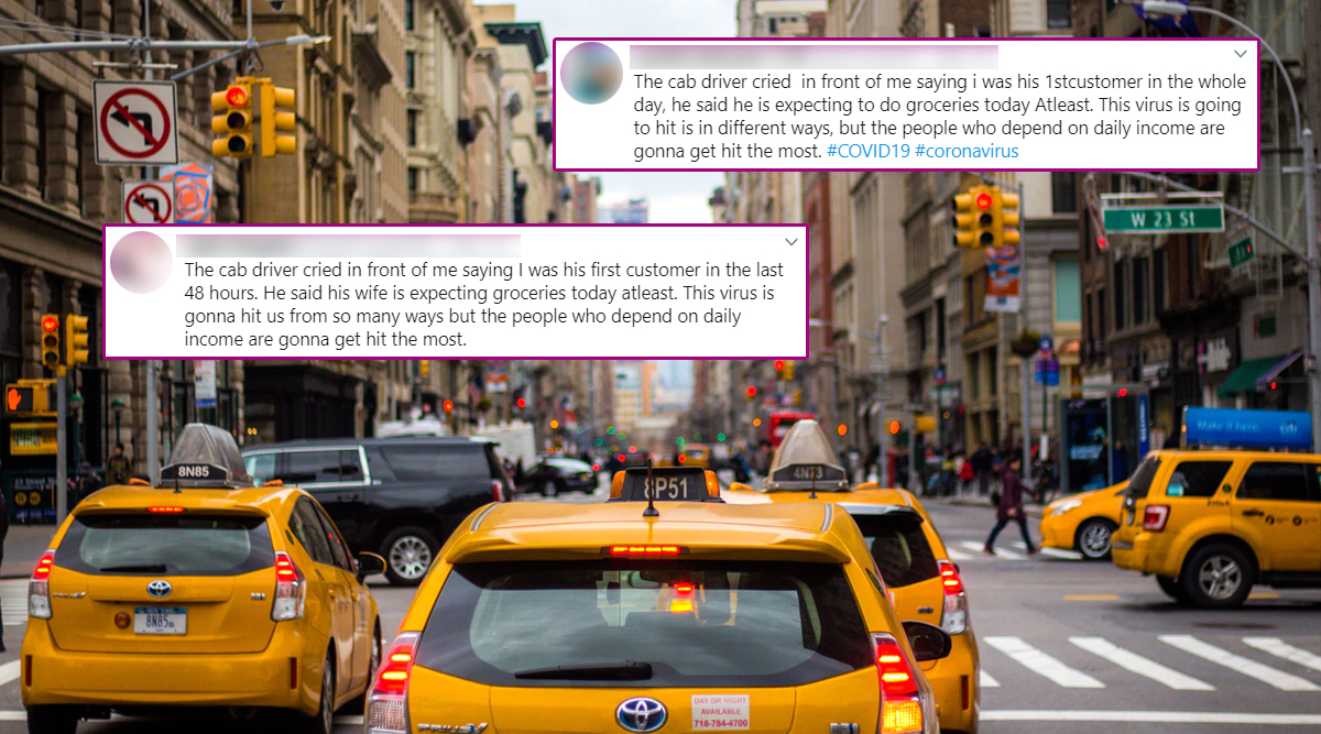 'Cab Driver Cried in Front of Me' Is the New Template Online That Netizens Are Using to Show Off Their 'Humanity' During Pandemic