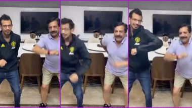 Yuzvendra Chahal Posts Hilarious TikTok Video With His Father Amid Coronavirus Lockdown