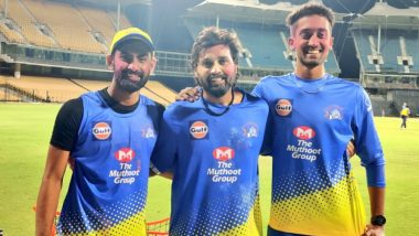 Suresh Raina, Murali Vijay & Other CSK Team Members Play Holi After Practice Session (Watch Video)
