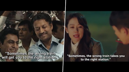 Here's How the Korean Drama Crash Landing On You Borrowed This Great Line From Irrfan Khan's The Lunchbox