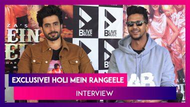 'Holi Mein Rangeele' Sunny Singh And Abhinav Shekhar Exclusive Interview