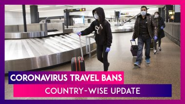 Coronavirus Travel Bans And Restrictions In Place Globally: India, U.S. & More Country-wise Update