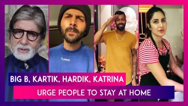 Amitabh Bachchan, Kartik Aaryan Urge Indians To #StayHome, Katrina Kaif Sweeps Floor Amid Lockdown