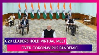 G20 Leaders Hold Video Summit To Discuss Coronavirus Pandemic, PM Modi Asks For Concrete Action Plan
