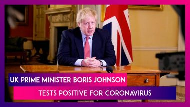 Boris Johnson, Prime Minister Of United Kingdom Tests Positive For Coronavirus, To Work From Home