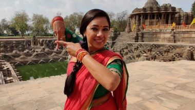 Rupali Ganguly Dances Barefoot on Scorching Floor of Sun Temple in Ahmedabad