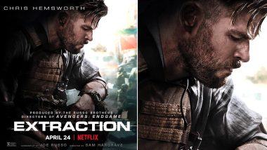 Extraction Poster: Chris Hemsworth's Action Film by Russo Brothers Is Not Impressive (See Pic)